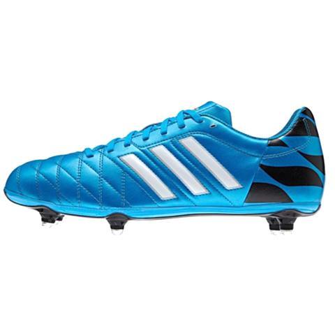 Adidas 11Questra SG Solar Blau / Lauf Weiß / Schwarz M29854 Stiefel