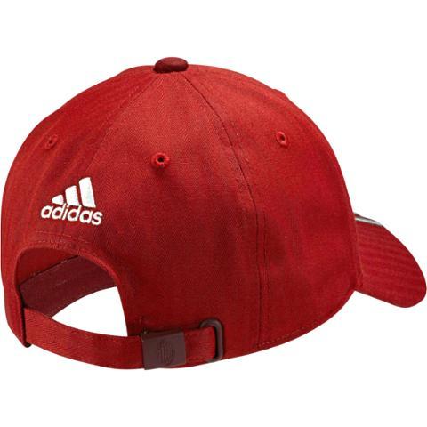034f6eadce Adidas AC Milan 3 Stripes Cap-Red Granite  Burgundy AA3012 ...