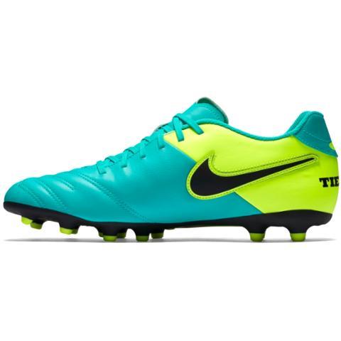 e1a589826fd99 Nike Tiempo Rio III FG-Clear Jade/Black/Volt 819233-307 - Boots Nike ...