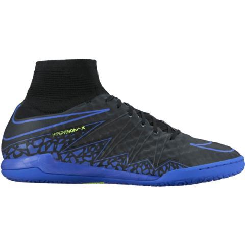 8a318413b69 Nike HypervenomX Proximo IC-Black Paramount Blue Volt Dark Grey ...