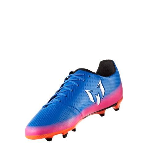 ccf0767e1 Adidas JR Messi 16.3 FG Blue Blast-Blue White Orange BA9147 - Boots ...