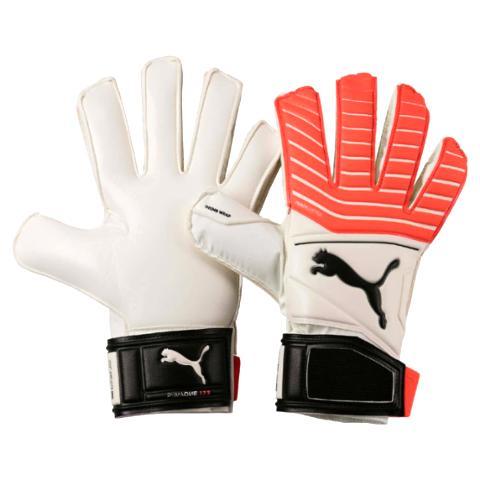 1062d41ef Goalkeeper Gloves Puma One Grip 17.3 RC-White/Coral 041335-01 ...