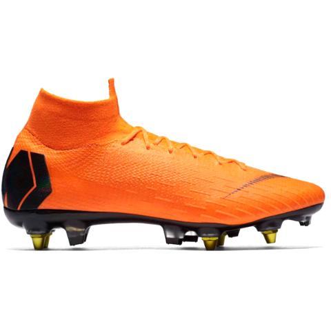 10e0a90e32 Nike Mercurial Superfly 6 Elite SG-Pro AC Fast AF-Orange Black ...