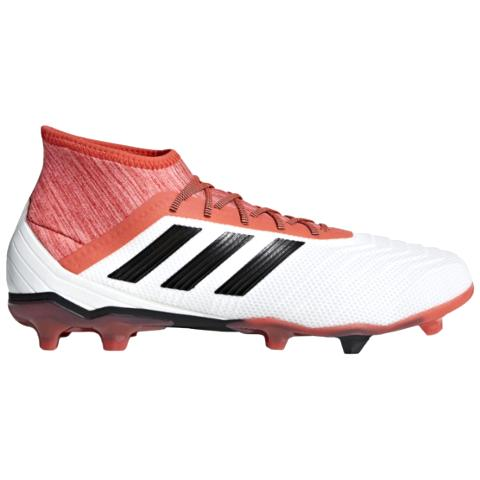 4cc99b617a9 Adidas Predator 18.2 FG Cold Blooded-White Red Black CM7666 - Boots ...