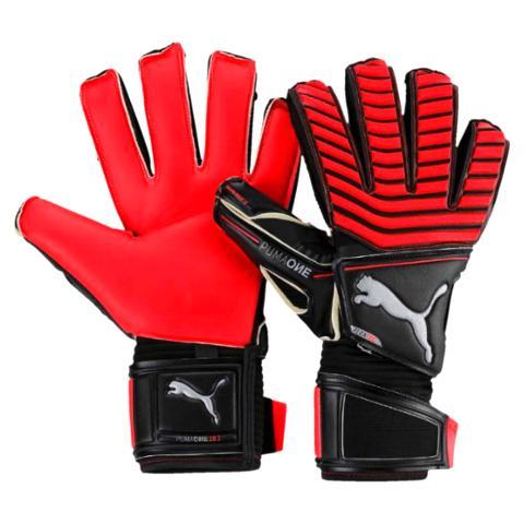 314e40455 Goalkeeper Gloves One Protect 18.1-Red/Black 041439-22 - Goalkeeper ...
