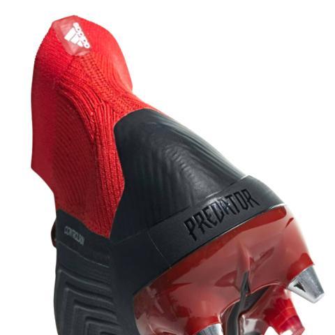 new style 47c04 6a80d Adidas Predator 18.1 SG Team Mode-Noir Blanc Rouge