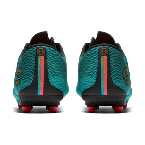 df56023565b Nike Mercurial Vapor 12 Academy CR7 MG Born Leader-Clear Jade Noir ...