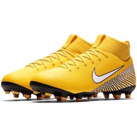 13fe6b707 Nike JR Mercurial Superfly 6 Academy Neymar JR FG/MG Meu Jogo-Yellow ...