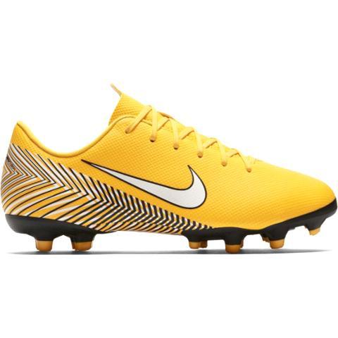 fad70586654 Nike JR Mercurial Vapor 12 Academy Neymar JR FG MG-Yellow AO2896-710 ...