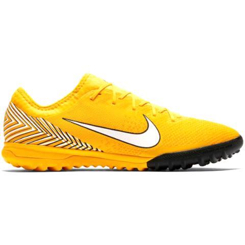Nike Mercurial Vapor 12 PRO Neymar JR TF Meu Jogo-Yellow AO4703-710 - Boots  Nike - Footballove b6b44bf324959
