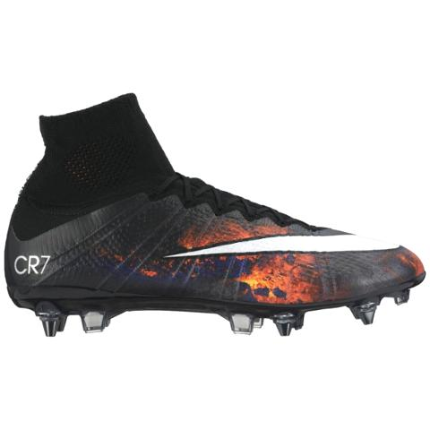 b346a0d60 Nike Mercurial Superfly CR7 SG-PRO Black Red Crimson White 677928 ...
