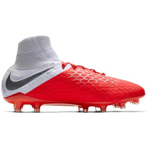 Nike Hypervenom Phantom 3 Pro DF FG Raised on Concrete-Red Grey AJ3802-600  - Boots Nike - Footballove 0f8422f9682e0